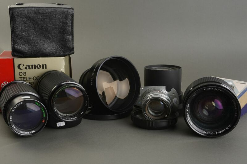 a lot with old lenses, as found