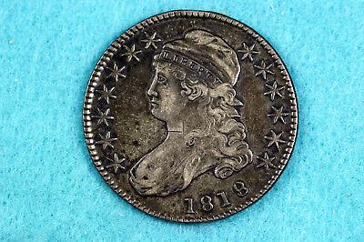 Estate Find 1818 Capped Bust Half Dollar  #D10655