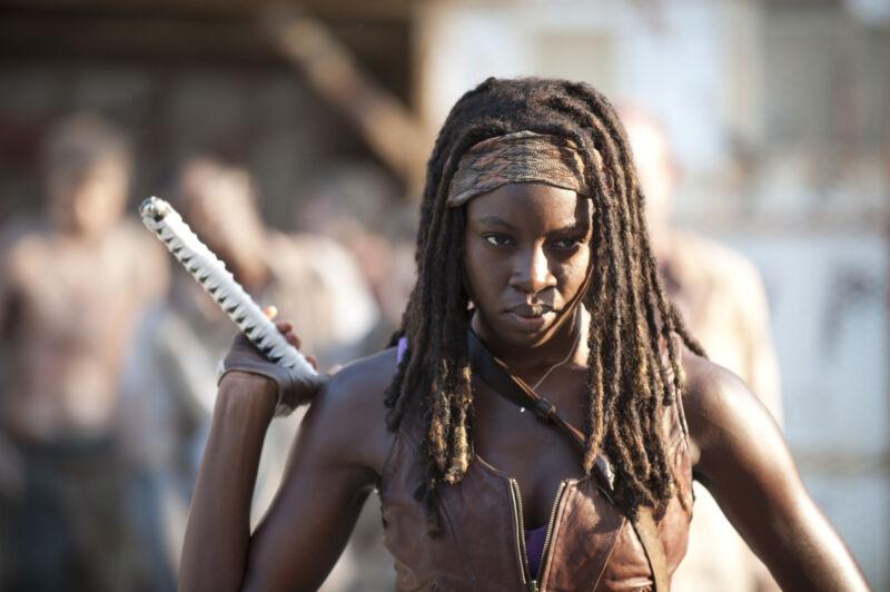 Michonne. Credit Gene Page/AMC