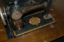 Singer pedal sewing machine and cabinet Melville Melville Area Preview
