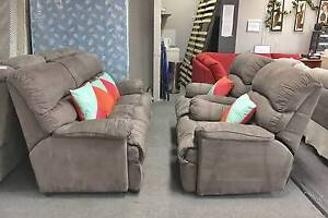 TODAY DELIVERY MODERN BROWN CHOCOLATE RECLINER 3X1X1 sofas set Belmont Belmont Area Preview