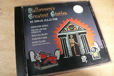 Halloween's Greatest Stories Edgar Allan Poe  Format: Audio CD (Audio Halloween Stories)