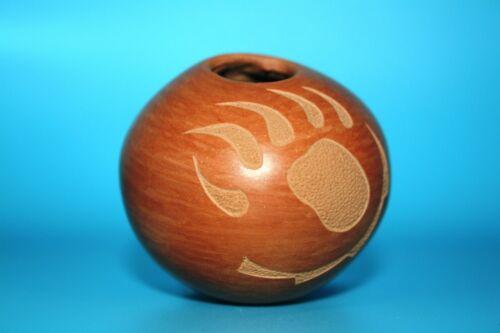 Jemez Bear Claw Seed Pot by Helen Tafoya Henderson