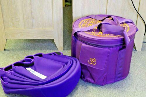 "6""-12"" Crystal singing bowl Carry Case and Bag, fit for crystal singing bowl set"