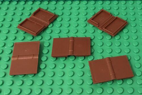 Lego 2x Reddish Brown Maraca Minifig Utensil NEW