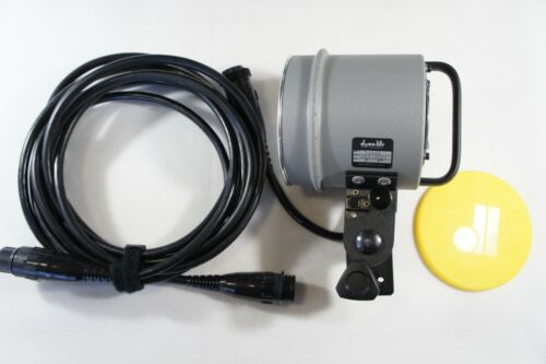 Dynalite Flash Light Head Set 2040 with Extension Cables, Fast 2-3 days shipping