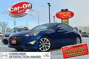 2016 Hyundai Genesis Coupe 3.8 PREMIUM LEATHER NAV ROOF HTD SEAT