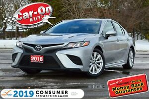 2018 Toyota Camry SE LEATHER REAR CAM HTD SEATS NAV READY LOADED