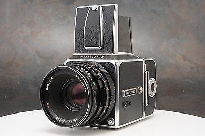 :Hasselblad 500C Medium Format Camera w CF 80mm F2.8 Planar T* Lens & A12 Back