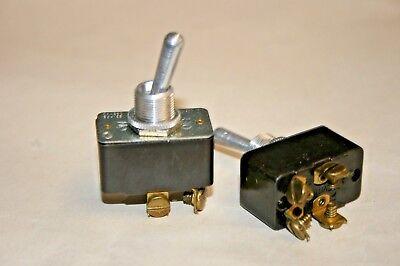 2 Pack Leviton Dpst - Onoff Toggle Switch - 15a125vac - 10a250vac 100-647