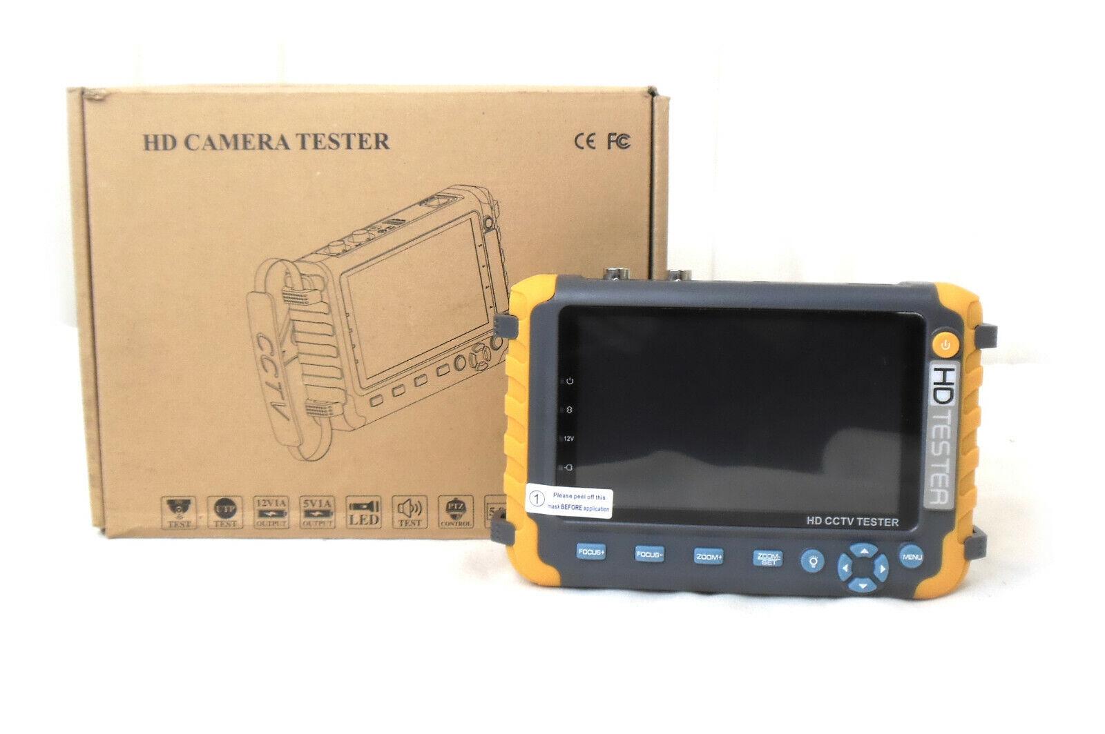 5 Zoll HD CCTV Tester Analoge Überwachungskamera Monitor UTP/HDMI VGA Eingang