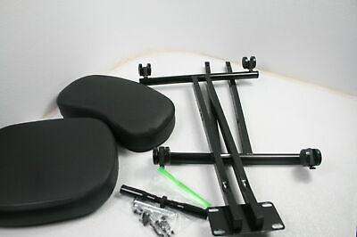 Plohee Ergonomic Kneeling Chair Adjustable Knee Stool W Thick Cushions Black