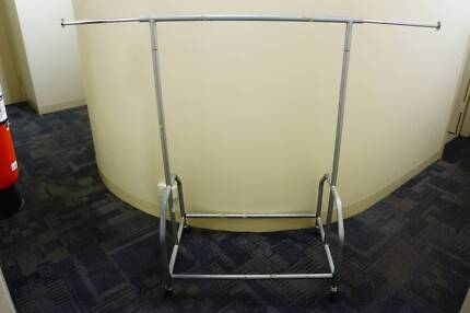Metal Commercial Clothes Rack - Bought for $92 (Only 2-month-old)