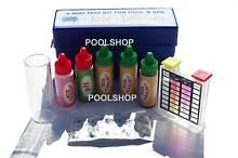 SWIMMING POOL SPA WATER CHEMICAL TEST KIT STRIP 5 WAY CHLORINE P Beldon Joondalup Area Preview