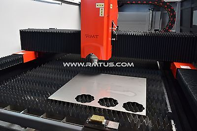 NEW NEW  RMT - KYSON FIBER LASER 6' X 13'  DUAL TABLES 2 KW