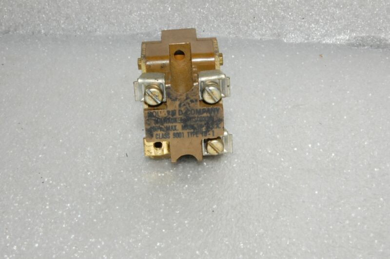 SQUARE D SELECTOR SWITCH 9001 TD-1