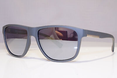 ARMANI EXCHANGE Mens Mirror Designer Sunglasses Grey Squar AX 4052 818087 24593