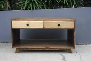MADRID SOLID MANGO WOOD COFFEE TABLE RETRO STYLE Manly Vale Manly Area Preview