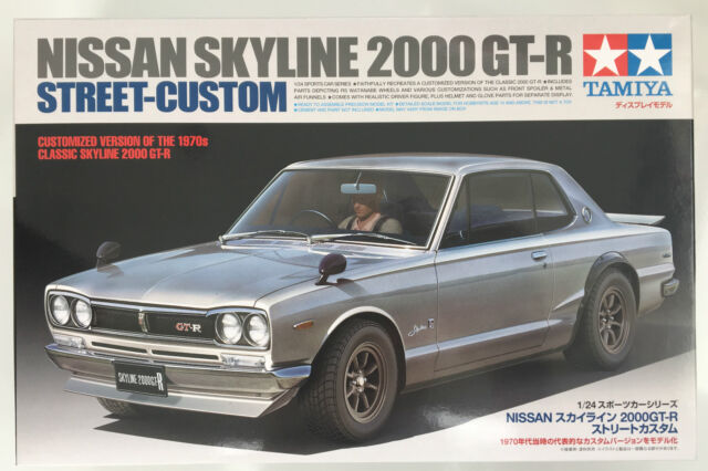 Tamiya 24335 Nissan Skyline 2000 GT-R Street Custom 1/24 Model Kit NIB