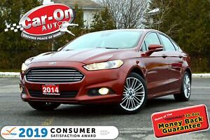 2014 Ford Fusion SE AWD LEATHER SUNROOF NAV REAR CAM LOADED
