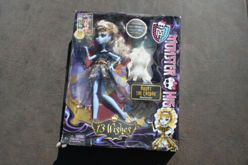 Exclusive Monster High 13 Wishes Abbey Bominable Haunt The Casbah 2013 MIB