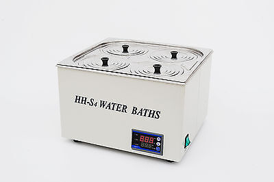 1200w Digital Thermostatic Water Bath 4 Hole Fast Shipping