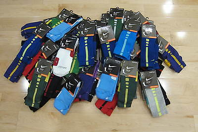 NIKE ELITE CUSHIONED CREW BASKETBALL SOCKS -SX3693 Choose Color and Size New