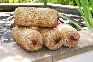 4x Barley Straw Bales - Each Bale Treats 1000 Gal - Green Water Algae Treatment