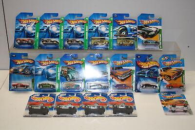 Hot Wheels Treasure Hunt, Super Treasure Hunt Cars  1995-2012 Qty 18