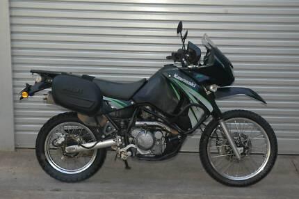 2008 Kawasaki KLR650, 6 month warranty, lots of extras