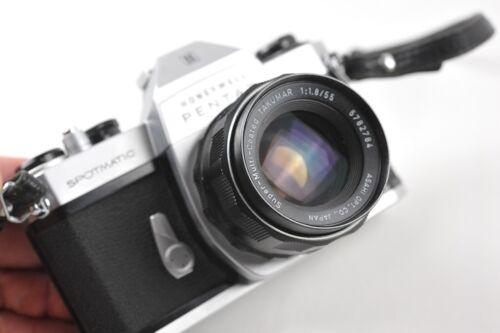 Pentax SPOTMATIC II w/55mm 1.8 lens & Case
