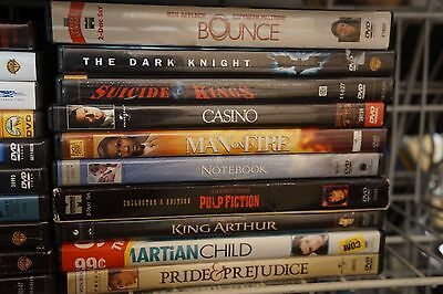 110 DVD LOT - ASSORTED TITLES FREE SHIPPING - DVDS