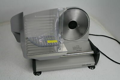 Ostba Electric Meat Slicer W Child Lock Protection 7.5 Stainless Steel Blade