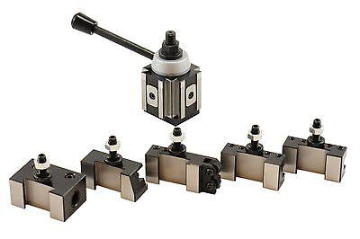 Axa Size Piston Type Quick Change Tool Post Set For Lathe 6- 12 250-100 Set New