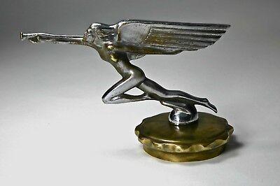 Trumpeting Flying Goddess Hood Ornament Mascot