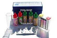 SWIMMING POOL SPA WATER CHEMICAL TEST KIT STRIP 5 WAY CHLORINE PH Beldon Joondalup Area Preview