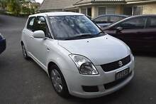 2008 Suzuki Swift Hatchback IN PEARL WHITE BRISBANE Daisy Hill Logan Area Preview