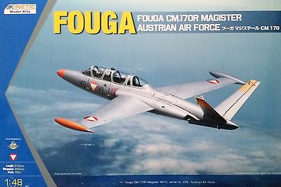 KINETIC 48059 Fouga CM.170R Magister Austrian Air Force in 1:48