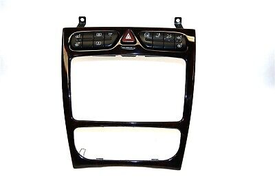 2001-2004 MERCEDES C240 Dash Climate Radio Bezel w/Switches OEM ~dd for sale  Aurora