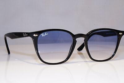 RAY-BAN Mens Designer Sunglasses Black Square KEYHOLE RB 4258 601/19 23884