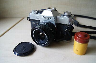 Canon FTb QL with Canon FD 28mm 1:2,8