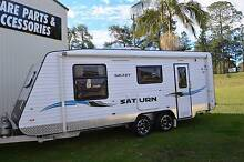 2015 GALAXY SATURN SEMI OFFROAD FULL ENSUITE CARAVAN Gympie Gympie Area Preview