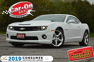 2013 Chevrolet Camaro 2SS 6.2L ONLY 63,000 KM LEATHER REAR CAM L