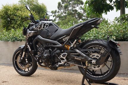 2017 Yamaha MT-09 ABS Sydney City Inner Sydney Preview