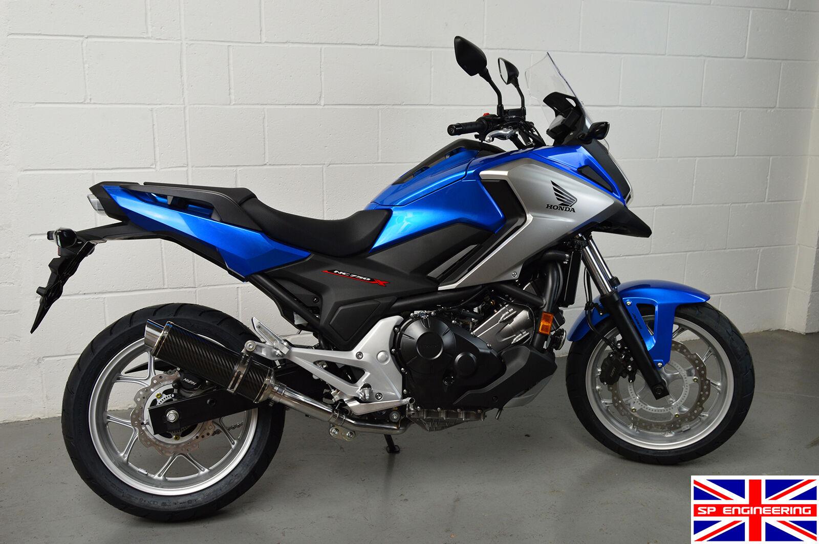 Yamaha FZ8 10-15 SP Engineering Satin Black Round Moto GP XLS Exhaust