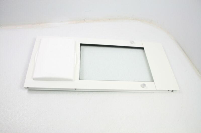 SEE NOTES Patio Pacific Inc Vertical Window Insert Small Vinyl Cat Pet Door