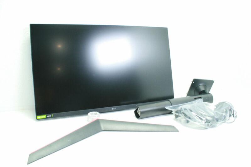 LG 27GL83A-B 27 Inch Ultragear QHD IPS 1ms NVIDIA G-SYNC Gaming Monitor Black