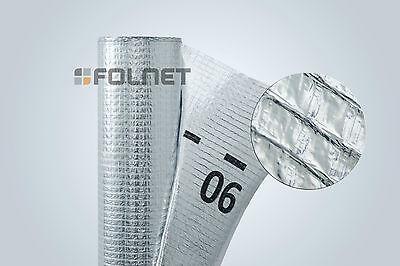 75m² Aluminium Dampfsperrbahn 1,5x50m Alu Dampfsperre Dampfsperrfolie Dachfolie