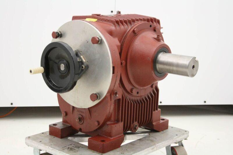 Ex-Cell-O MU-60-W2R Cone Drive Gear Reducer 160:1 Ratio 5.8 HP Hand Wheel Drive