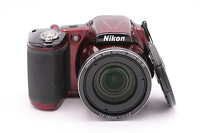 Nikon COOLPIX L830 16.0MP Digital Camera -  Red segunda mano  Embacar hacia Mexico